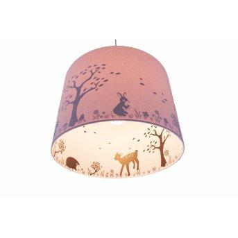 Waldi Hopsi Lámpara Colgante Vidrio, 1 luz