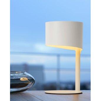 Lucide KNULLE Lámpara de escritorio Blanca, 1 luz