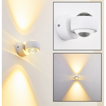 Rio Aplique LED Blanca, 2 luces
