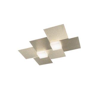 Grossmann Creo Aplique LED Color champán, 2 luces