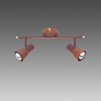Brilliant Lava Lámpara de techo Cobre, 2 luces