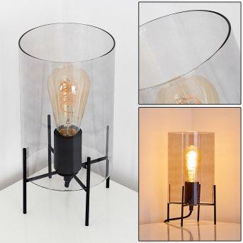Tanuki Lámpara de Mesa Negro, 1 luz