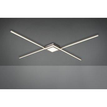 Trio Oxford Lámpara de Techo LED Níquel-mate, 1 luz