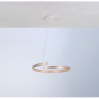 Bopp BREAK Lámpara Colgante LED dorado, 1 luz