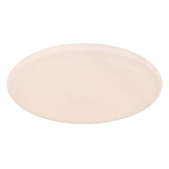 Globo RENA Lámpara de Techo LED Blanca, 1 luz, Mando a distancia, Cambia de color