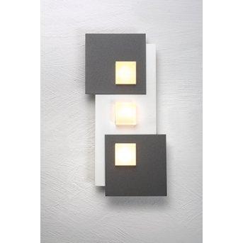Bopp PIXEL Lámpara de Techo LED Blanca, 3 luces