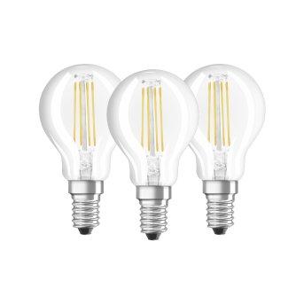 Osram LED E14 4,5 Watt 2700 Kelvin 470 Lumen Paquete de 3