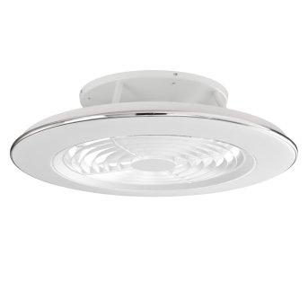 Ventilador de techo Mantra ALISIO LED Blanca, 1 luz, Mando a distancia