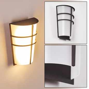 Lamarche Aplique para exterior LED Antracita, 2 luces