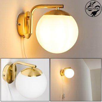 Chemung Aplique dorado, 1 luz