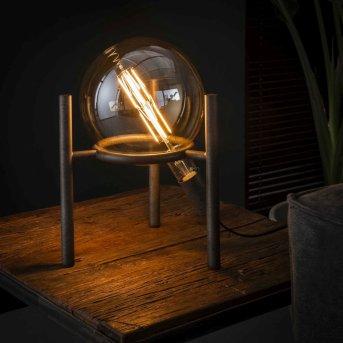 Boschoord Lámpara de Mesa Color óxido, 1 luz