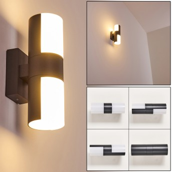 Aplique para exterior Baulund LED Antracita, 1 luz