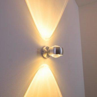 Sapri Aplique Plata, 1 luz