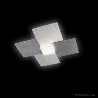 Grossmann CREO Lámpara de techo o pared LED Aluminio, 1 luz