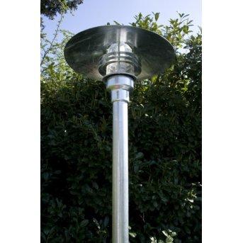 Nordlux Vejers Candelabro Transparente, claro, Galvanizado, 1 luz