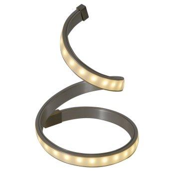 Näve LoopLine Lámpara de Mesa LED Acero inoxidable, 1 luz