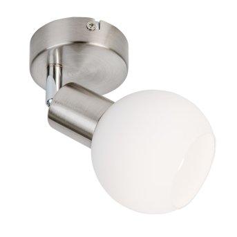 Aplique Nino Leuchten LOXY LED Níquel-mate, 1 luz