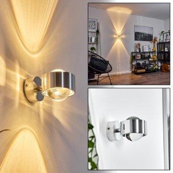 Sapri Aplique cromo bruñido, 1 luz