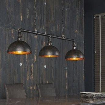 GROENEKAN Lámpara Colgante Negro, 3 luces