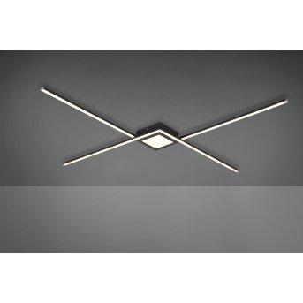 Trio Oxford Lámpara de Techo LED Antracita, 1 luz