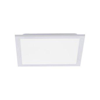 Leuchten Direkt FLEET Lámpara de Techo LED Blanca, 1 luz, Sensor de movimiento