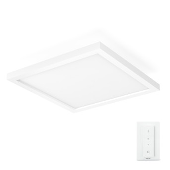 Philips Hue Ambiance White Aurelle Panel luminoso LED Blanca, 1 luz, Mando a distancia