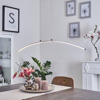 Vidsel Lámpara Colgante LED Acero bruñido, 1 luz