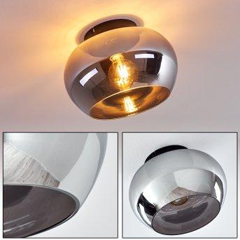 Molloy Lámpara de Techo Negro, 1 luz