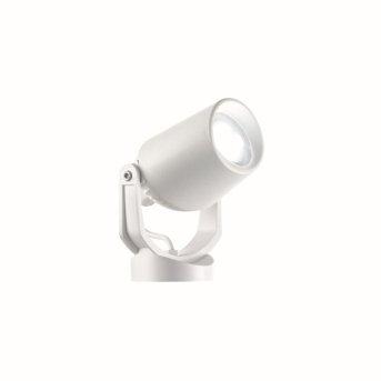 Ideal Lux MINITOMMY Foco proyector de jardín Blanca, 1 luz