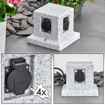 Malabo Enchufes de exterior Apariencia de piedra