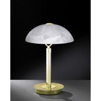 Wofi BRISTOL Lámpara de mesa Latón, 2 luces
