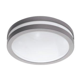 Eglo connect LOCANA Lámpara de Techo LED Plata, 1 luz
