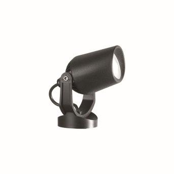Ideal Lux MINITOMMY Foco proyector de jardín Negro, 1 luz
