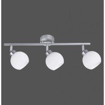Leuchten-Direkt LOTTA Lámpara de techo Plata, 3 luces