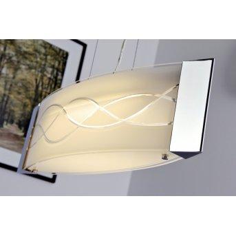 Datong Lámpara colgante LED Cromo, Aluminio, 1 luz