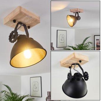 Svanfolk Lámpara de Techo Negro, Marrón, 1 luz