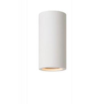 Lucide GIPSY Lámpara de techo Blanca, 1 luz