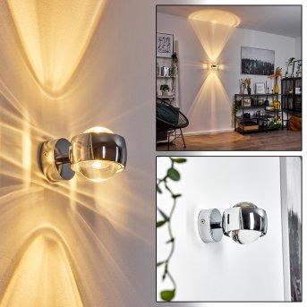 Sapri Aplique cromo Cromo, 1 luz