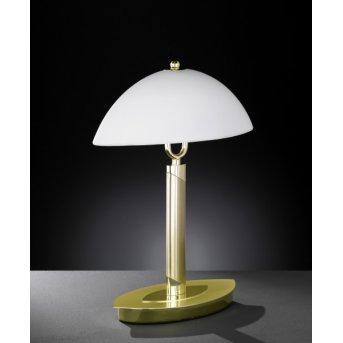 Wofi NEWTON Lámpara de mesa Latón, 2 luces