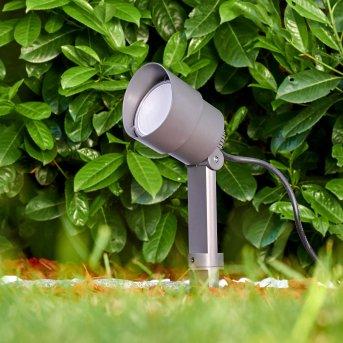 Apenrader Foco proyector jardin LED Antracita, 1 luz
