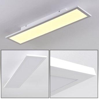 Salmi Lámpara de Techo LED Blanca, 1 luz