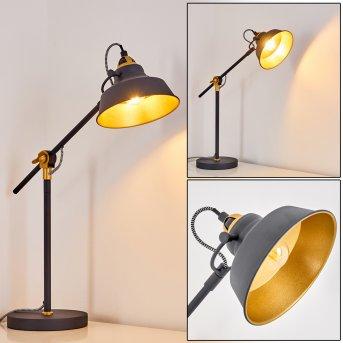 Luven Lámpara de Mesa Negro, 1 luz, Mando a distancia