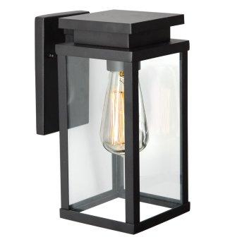 KS Verlichting Jersey Aplique Negro, 1 luz