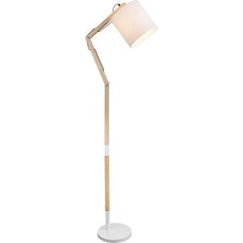 Globo MATTIS Lámpara de Pie Blanca, 1 luz
