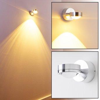 Harare Aplique LED Aluminio, 1 luz