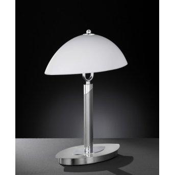 Wofi NEWTON Lámpara de mesa Níquel-mate, 2 luces