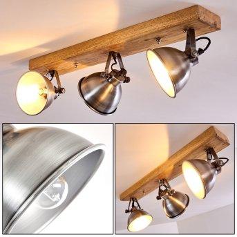 Svanfolk Lámpara de Techo Madera clara, 3 luces