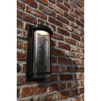 Lutec Aquarius Aplique para exterior LED Negro, 1 luz