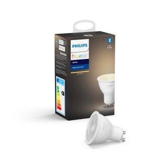 Philips Hue LED White GU10 5,2 Watt 2700 Kelvin 400 Lumen