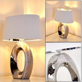 Rovio Lámpara de Mesa Plata, 1 luz